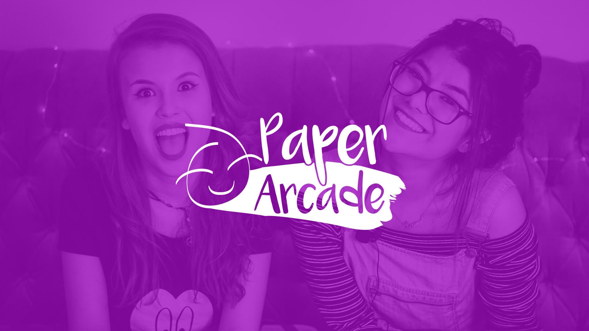 Paper Arcade Banner | Voltekka: Website Design & Digital Marketing Specialists