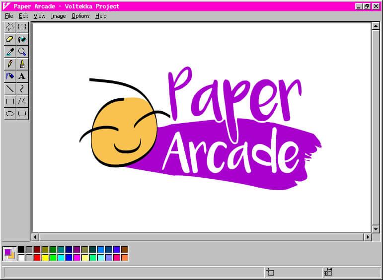 Paper Arcade Logo Design & Branding | Voltekka: Website Design & Digital Marketing Specialists